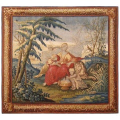 18th Century Brussels Mythological Tapestry, with the Change of Seasons