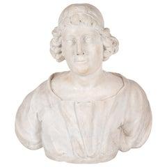 18th Century, Carrara Marble Bust