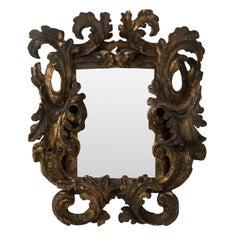 18th Century Carved Italian Mirror