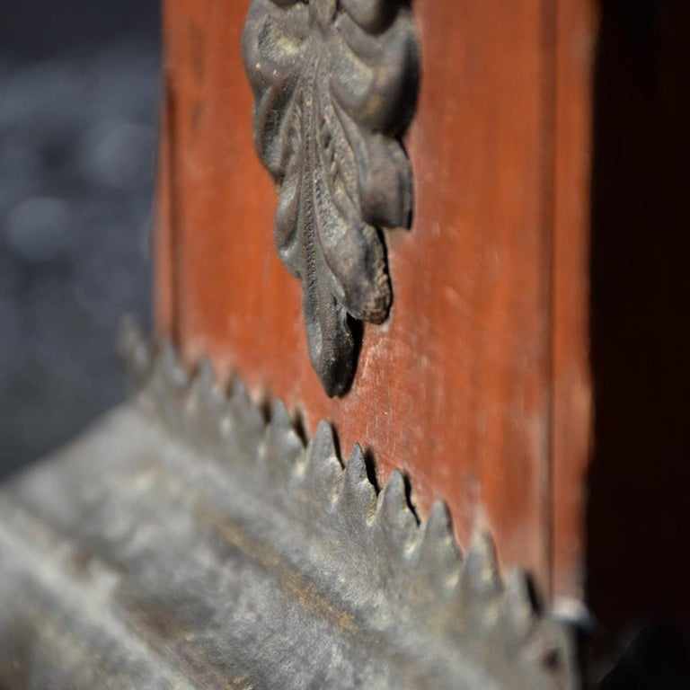 18th Century Carved Wood Santos Head For Sale 7