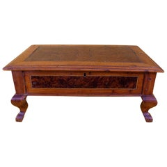 18th Century Cherrywood and Rosewood Box