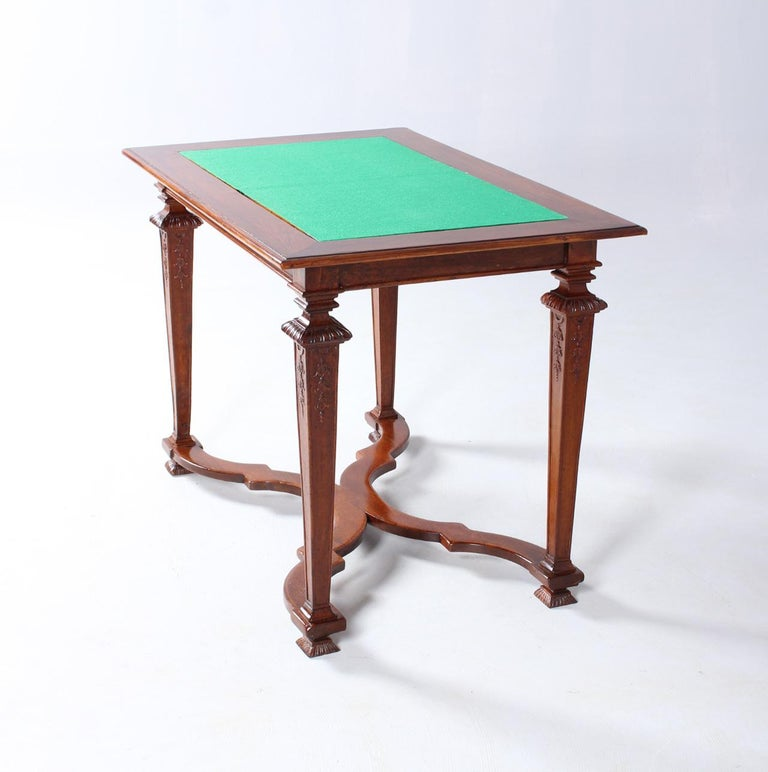 18th Century Chess and Backgammon Gametable, Walnut, Louis XVI circa 1780 For Sale 5