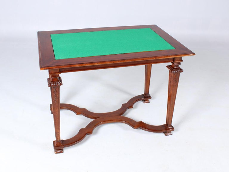 18th Century Chess and Backgammon Gametable, Walnut, Louis XVI circa 1780 For Sale 4