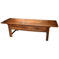 18th Century Chestnut Coffee Table