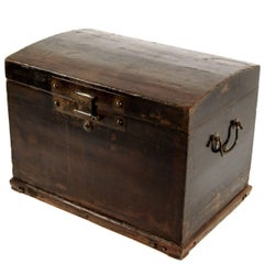 18th Century Chinese Domed Trunk