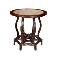 Antique Chinese Marble Top Table