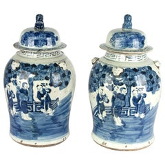 18th Century Chinese Ginger Jars