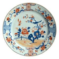 18th Century Chinese Imari Porcelain Charger