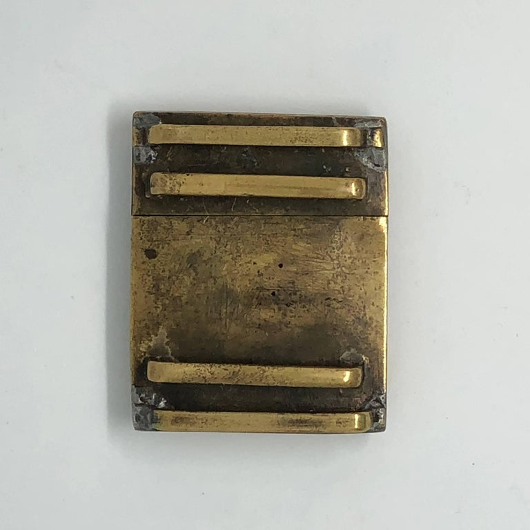 18th Century Chinese Jade and Fire Gilded Bronze Belt Buckle For Sale 7