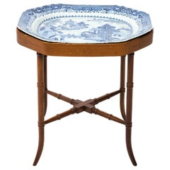 18th Century Chinese Porcelain Tray Table