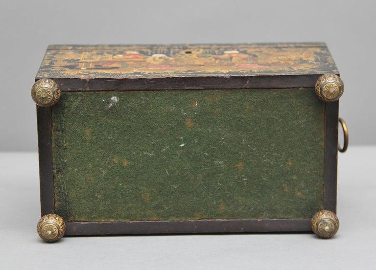 18th Century Chinoiserie Tea Caddy 2