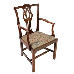 18th Century Chippendale Elbow Chair