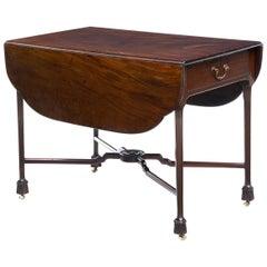 18th Century Chippendale Mahogany Pembroke Table