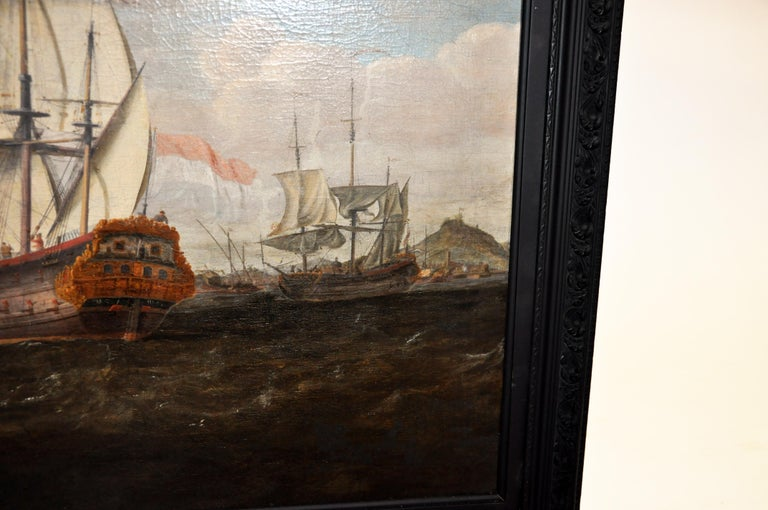 18th Century Continental Europe Painting For Sale 8