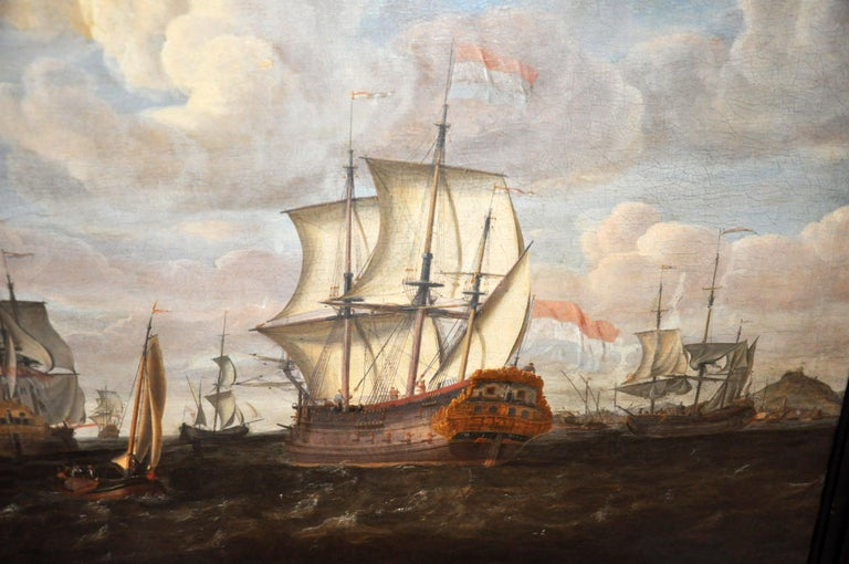 18th Century Continental Europe Painting For Sale 9