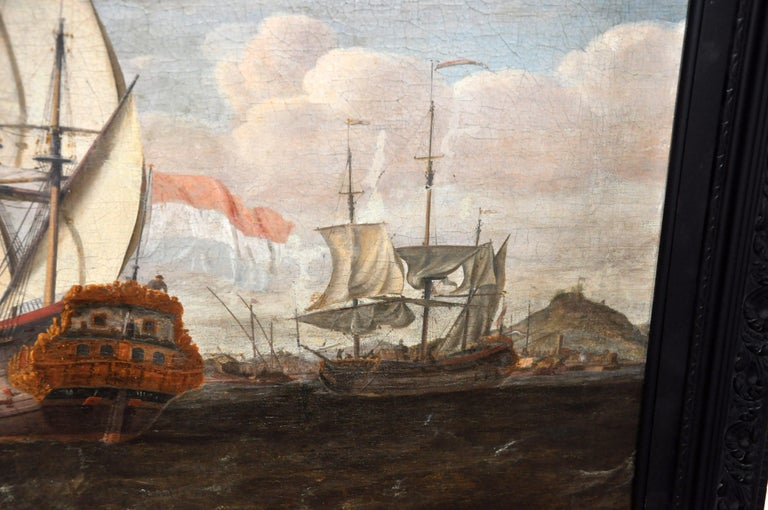 18th Century Continental Europe Painting For Sale 11