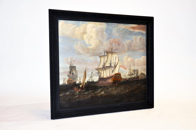 18th Century Continental Europe Painting For Sale 12