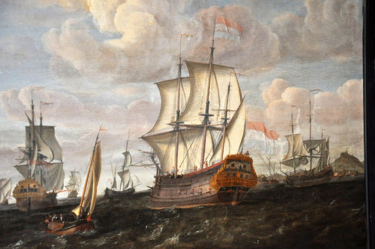 18th Century Continental Europe Painting For Sale 13