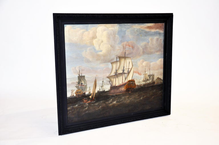 18th Century Continental Europe Painting In Good Condition For Sale In Chicago, IL