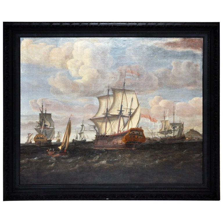 18th Century Continental Europe Painting For Sale