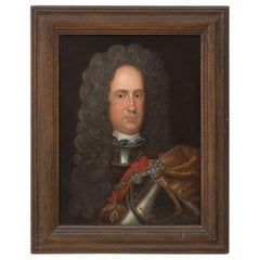 18th Century Continental School Portrait of King Charles III of Spain