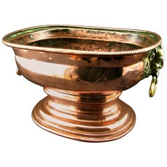 18th Century Copper Wine Cistern / Wine Cooler, Netherlands, circa 1750