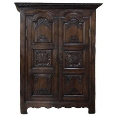 18th Century Country French Armoire