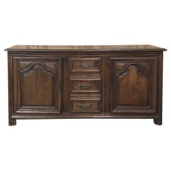 18th Century Country French Fruitwood Buffet