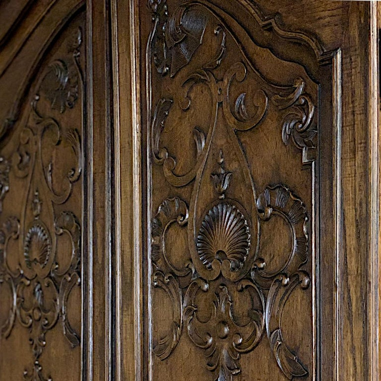 18th Century Country French Louis XV Armoire For Sale 11