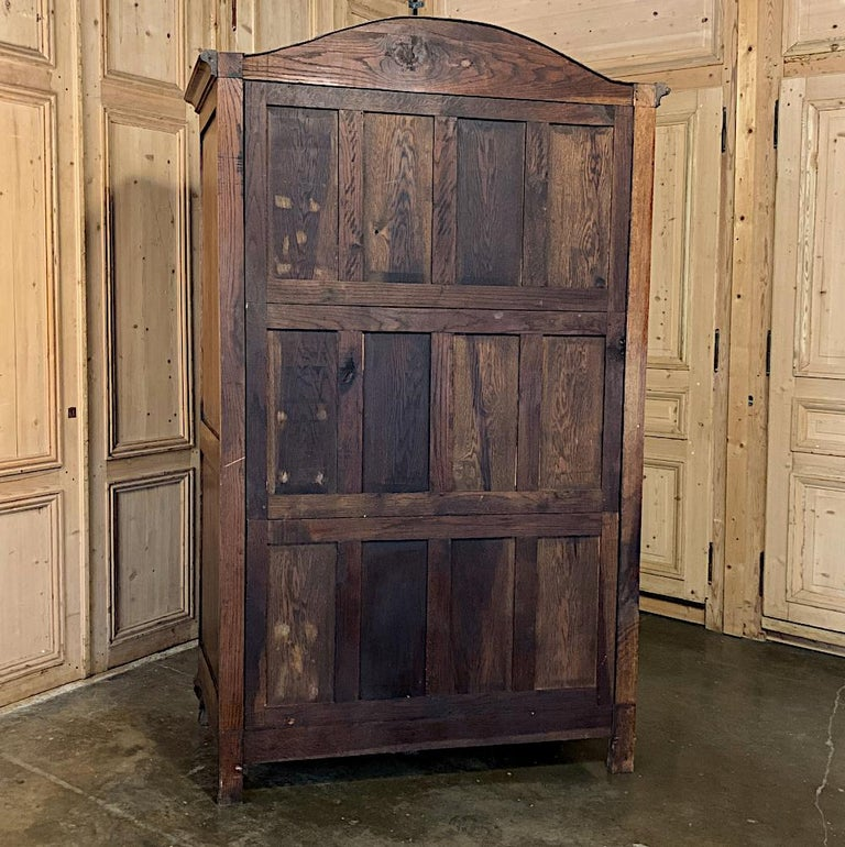 18th Century Country French Louis XV Armoire For Sale 13