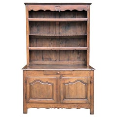 18th Century Country French Vaisselier, Buffet