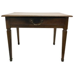 18th Century Country Side Writing Table