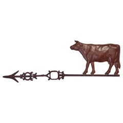 18th Century Cow Weathervane