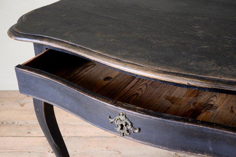 18th Century Danish Rococo Writing Desk For Sale 4