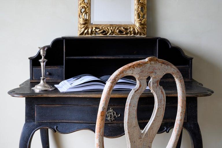18th Century Danish Rococo Writing Desk For Sale 6