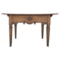 18th Century Dark-Brown French Régence Console Table, Oakwood Farm, End Table