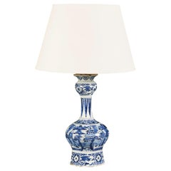 18th Century Delft Vase as a Lamp