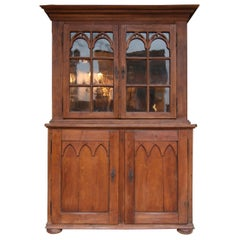 18th Century Display Cabinet made of Oak