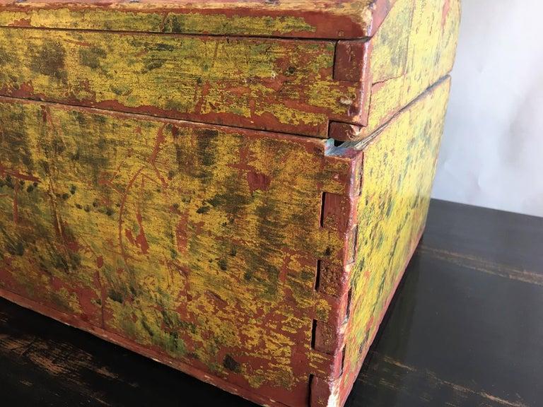 American 18th Century Dome Top Box For Sale