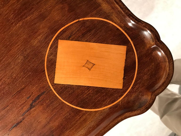 18th Century Dutch Card Table For Sale 1