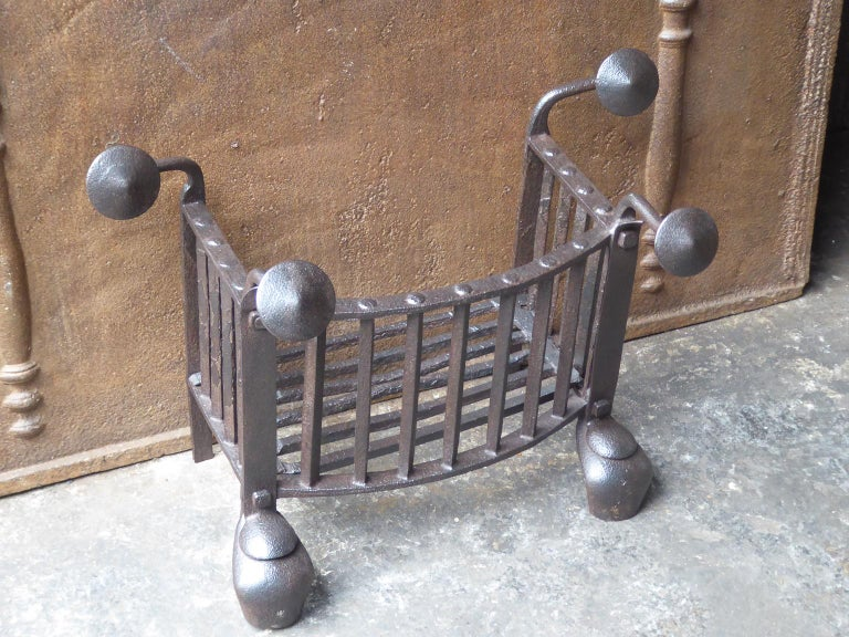 18th Century Dutch Georgian Fireplace Grate or Fire Grate In Good Condition For Sale In Amerongen, NL
