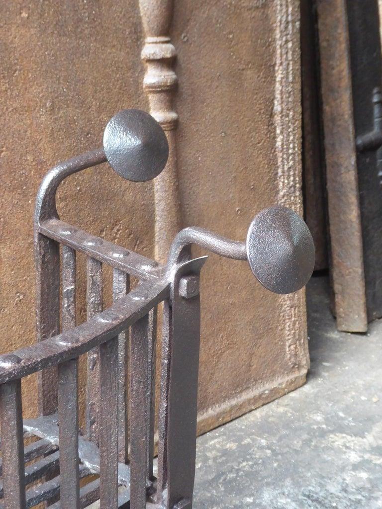 18th Century Dutch Georgian Fireplace Grate or Fire Grate For Sale 1