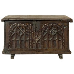 18th Century Dutch Gothic Trunk