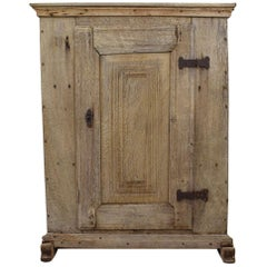 18th Century Dutch Oak Armoire, Cabinet