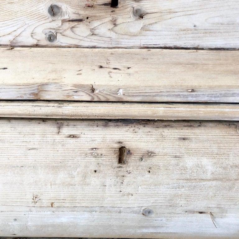 18th Century Dutch Oak Bleached Cabinet For Sale 4
