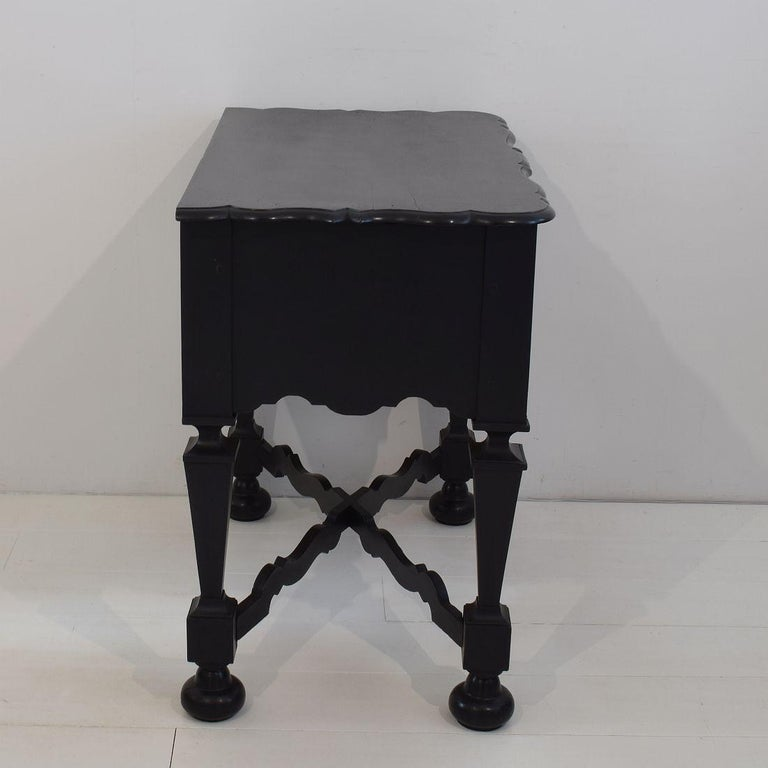 18th Century Dutch Painted Oak Chest of Drawers For Sale 6