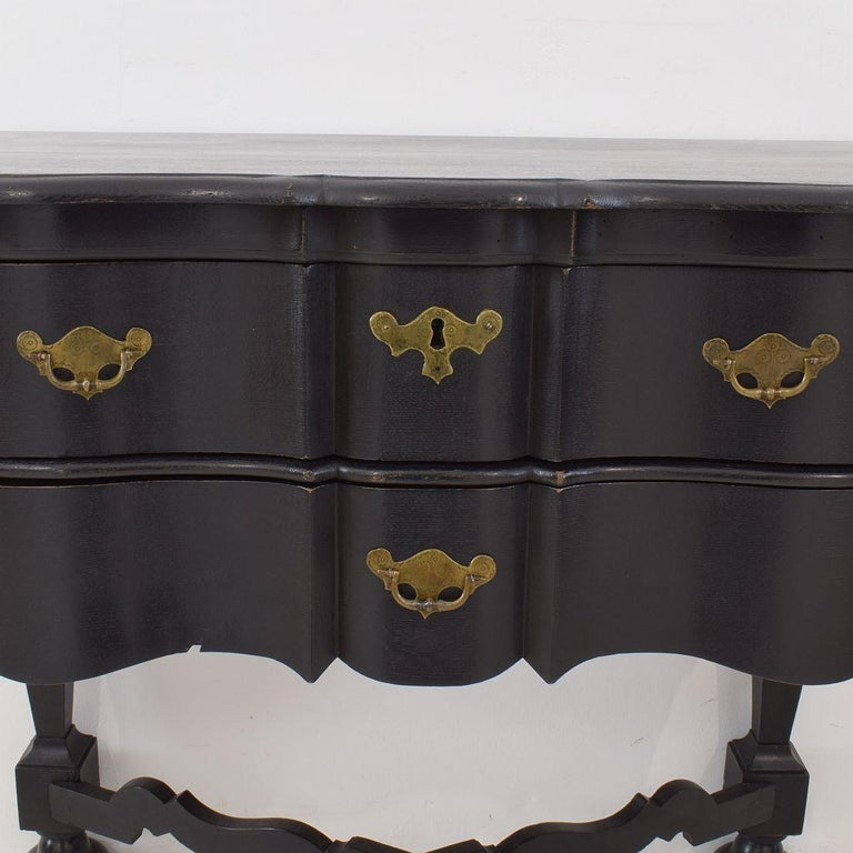 18th Century Dutch Painted Oak Chest of Drawers For Sale 9