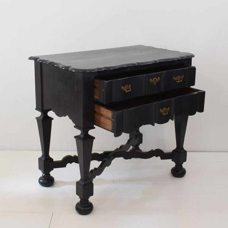 18th Century Dutch Painted Oak Chest of Drawers For Sale 1