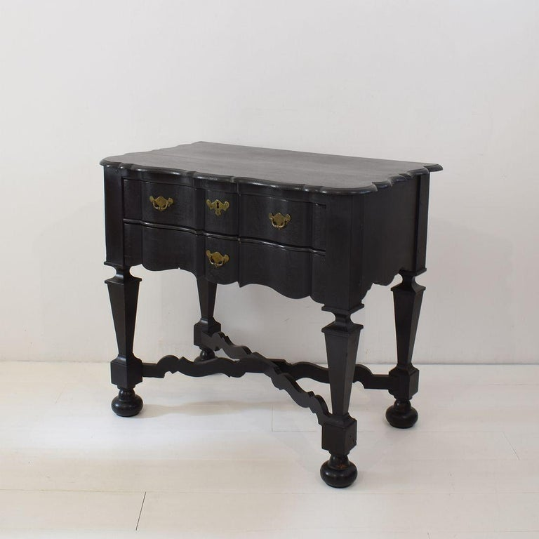 18th Century Dutch Painted Oak Chest of Drawers For Sale 2