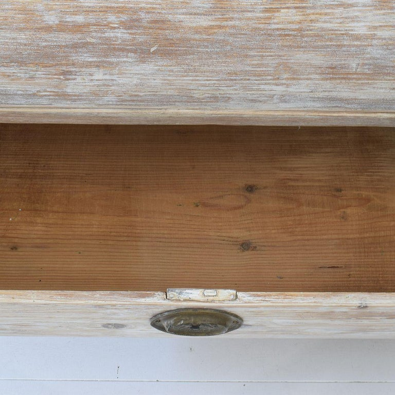 18th Century Dutch Pine Bombe Chest of Drawers For Sale 11